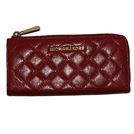 bbad0183056a Trending product! This item has been added to cart 44 times in the last 24  hours. MICHAEL KORS Susannah Black Quilted Continental Wallet