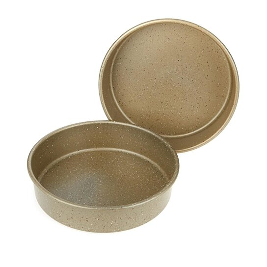 Buy Curtis Stone Dura Bake 174 Set Of 2 Round Cake Pans By