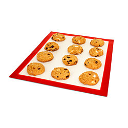 "DoughEZ Baking Mat, 11"" x 16.5"", Silicone Fibermesh, Non-Stick, Oven Safe Up to 480° F, BPA Free, FDA Approved, Large"