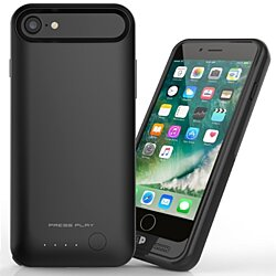 iPhone 7 - Extended Battery Case - APPLE MFi Certified  - Ultra Slim - 120% Extra Battery [Nero7]