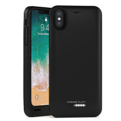 iPhone X Battery Case, (APPLE CERTIFIED), iPhone 10 Portable Charger Slim Charging Case Extended Battery Pack Power Cases Juice Bank Cover