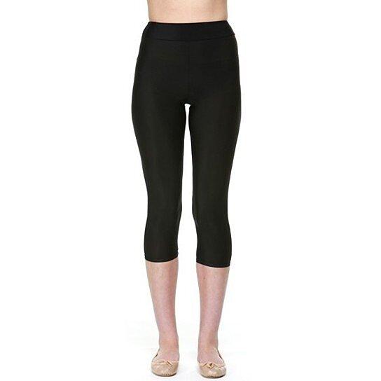 Buy Proskins Slim Black Capri 3 4 Length Leggings