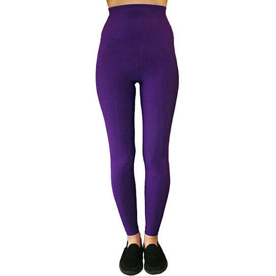 Buy SLIM High-Waisted Moisturinzing Compression Purple ...