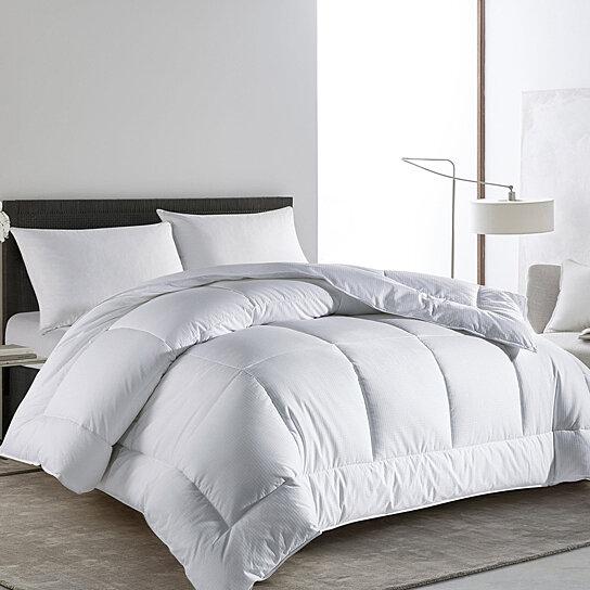 Piped Edges Stripe Down Alternative Comforter Duvet Insert Twin//Full//Queen//King