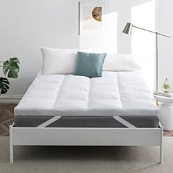 White Goose Feather Bed/Mattress Topper