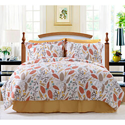 PuTian Home-Bedding Printed Comforter Set 5 PCS-Queen/King-GraceEncounter
