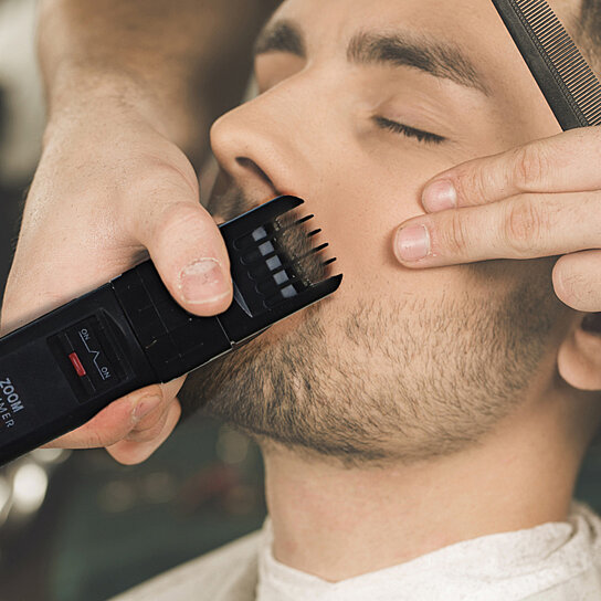 buy beard trimmers kit for men 4 piece beard grooming kit. Black Bedroom Furniture Sets. Home Design Ideas