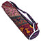 Multi color Artisan-Crafted Mandala Yoga Mat Bag with Pocket