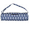 Indigo  Adjustable Shoulder Strap Cotton  Yoga Mat Carrying Bag