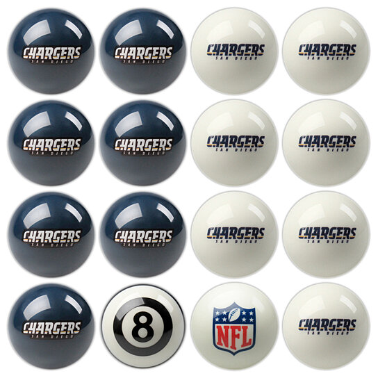 Buy San Diego Chargers Nfl Logo Licensed 8 Ball Billiard