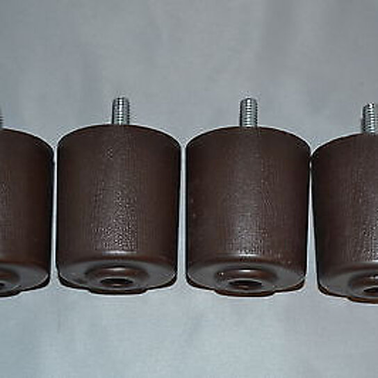 Buy Replacement Furniture Legs 2 Inches Set Of 4 Plastic Brown Recliner Handle By Recliner