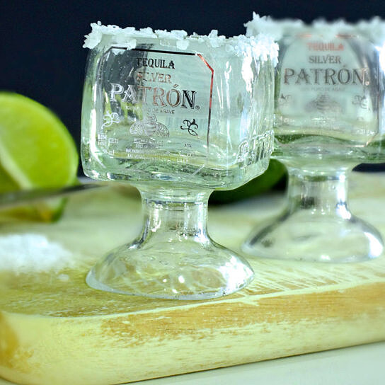 Buy One Patron Tequila Bottle Margarita Shot Glass 50ml