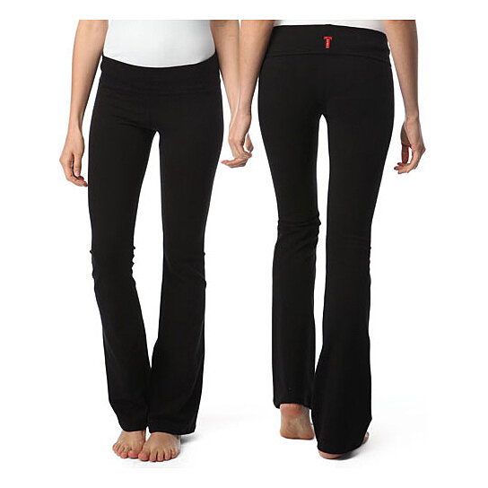 353267c013a62 Buy T-Party Yoga Pants | Solid Color | Fold Over Waist by Repeat  Possessions on OpenSky