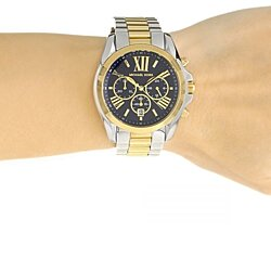 *BRAND NEW* Michael Kors Watches Bradshaw Chronograph Stainless Steel Watch