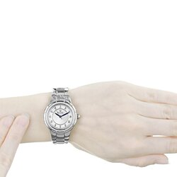 HOLIDAY SALE !!! *BRAND NEW* Rosedale Diamond Mother of Pearl Dial Stainless Steel Ladies Watch