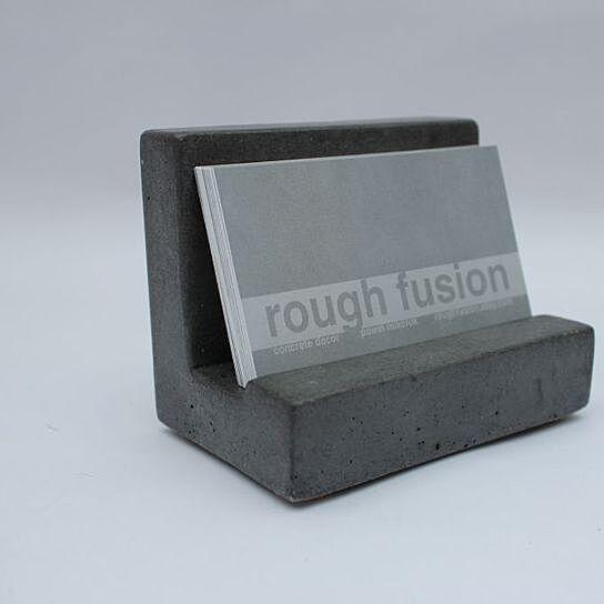 Buy Concrete Business Card Holder by Pawel Mikoluk on OpenSky