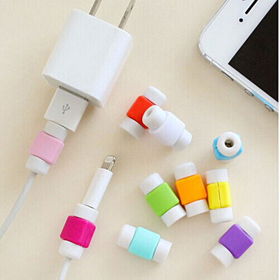 Colorful USB Cable Protector