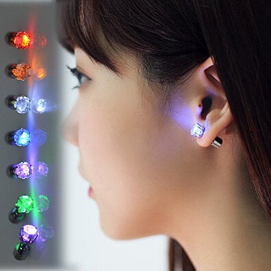 iGlo Colorful Light Up Earrings