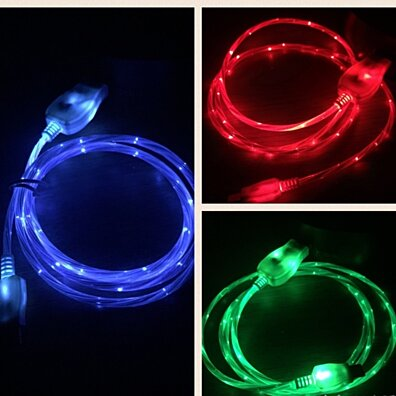 "iPhone/iPad ""Visible Current Flow"" Light Up Charger"