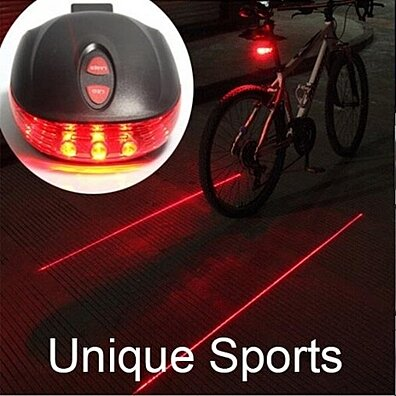 Waterproof Bicycle Laser Tail Caution Light