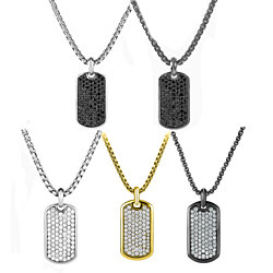 Stainless Steel Designer Inpsired Pendant Necklace - 5 Options