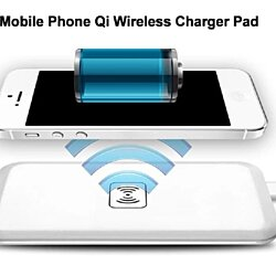 Qi WIRELESS CHARGER CHARGING PAD FOR IPHONE 6 SAMSUNG GALAXY S6 EDGE HTC