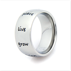 Peace, Hope, Love, Faith....Ring