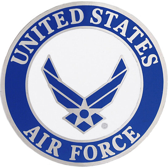 Buy United States Air Force Logo Pin By Rush Industries On
