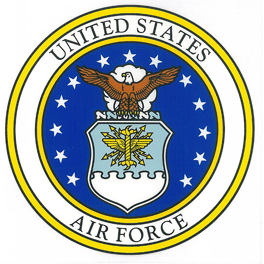 Buy United States Air Force Seal Car Decal by Rush Industries on ...