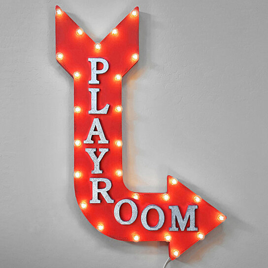 Buy Playroom Play Gameroom Game Room Light Up Arcade Games