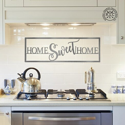 """Home Sweet Home"" Sign"