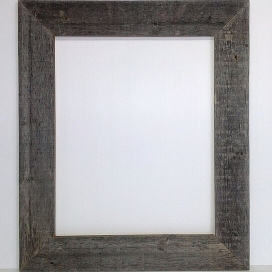 Buy 16x20 Picture Frames u00e2 Barnwood Reclaimed Wood Extra Wide ...