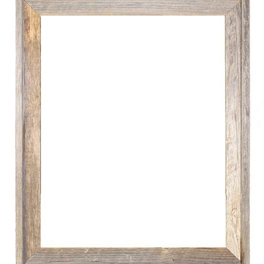 24x30woodframe picture frames barnwood reclaimed wood signature