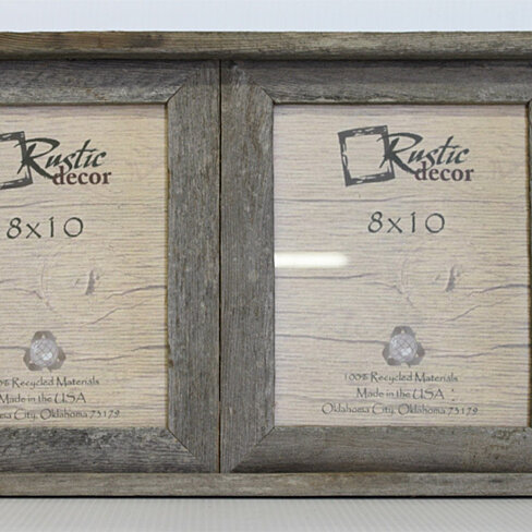 Buy 8x10 Rustic Barn Wood Double Opening Frame by Rustic