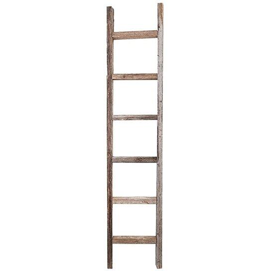 Buy Decorative Ladder Reclaimed Old Wooden Ladder 6 Foot