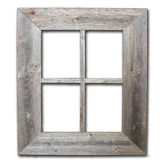 Buy Rustic Barn Wood Window Frame By Rustic Decor Llc On