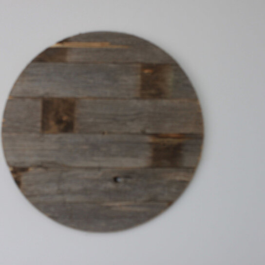 Buy rustic reclaimed barn wood 30 circle by rustic decor for Buy reclaimed wood online