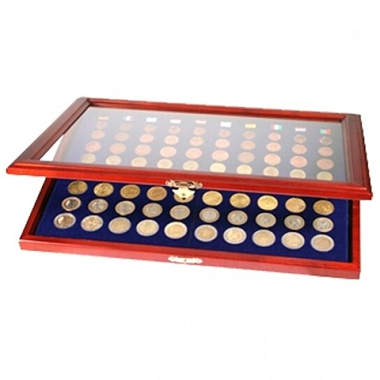 buy coin display case for 10 euro sets by safe collecting supplies on opensky