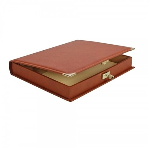 buy collecto slipcase binder saddle tan by safe collecting supplies on opensky