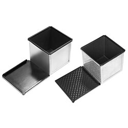 SANNENG Square Loaf Pan(Non-stick) 100x100x100mm