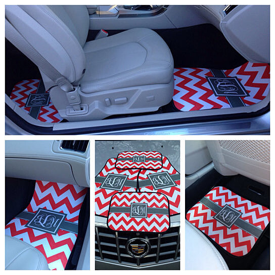 Buy Monogrammed Car Mats Personalized Car Mats Design