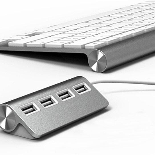 Buy Satechi Premium 4 Port Aluminum USB Hub by Satechi on ...