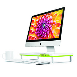 Satechi F1 Smart Monitor Stand (White)