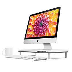 Satechi F3 Smart Monitor Stand  USB 3.0 (White)