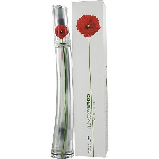 buy flower by kenzo eau de toilette spray for refillable 3 4 oz 100 ml by satin blush