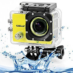 All PRO Action Sports Camera with HD 1080P Waterproof and Accessory