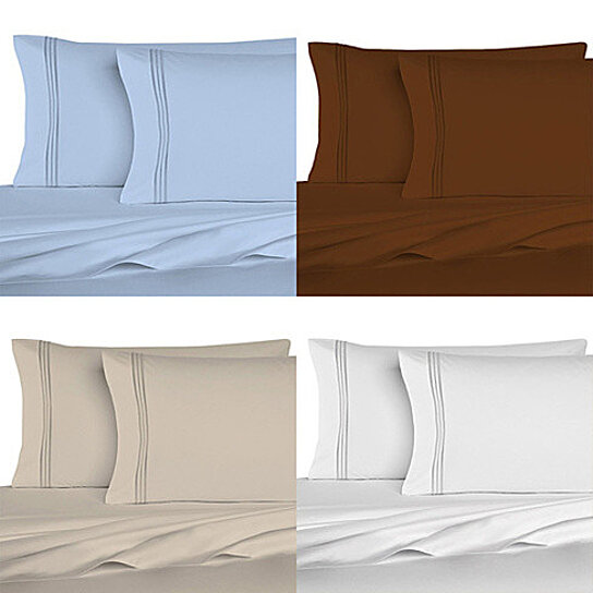 Buy The Good Living Super Cool Micro Fiber Bed Sheets Set