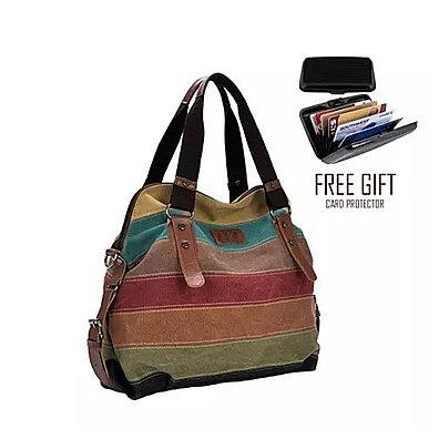 ed8d01764c Viva Voyage Wild Zebra Journey Bag With FREE RFID Wallet