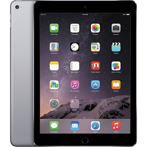 "Apple iPad Air 2 MGKL2LL/A Wi-Fi 64GB 9.7"" - Space Gray Grade A"