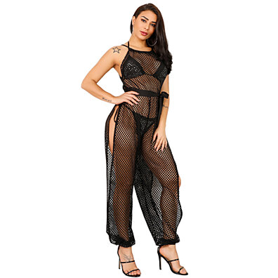b724c78df6 Womens Summer Sexy Cover Ups for Swimwear Mesh Beach Bikni Swimsuit Cover Up
